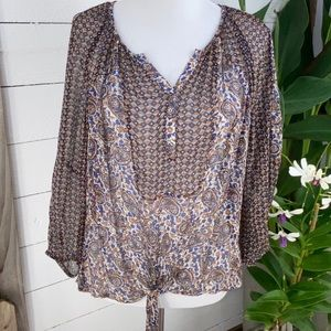 Lucky Brand Woman's PreLoved Tunic